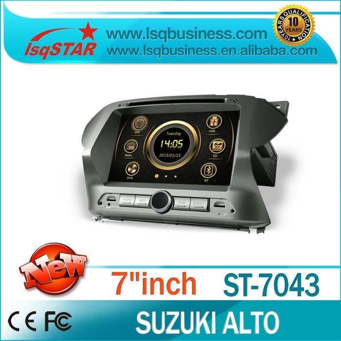 All-In-One Suzuki Alto Car DVD with GPS Navigation car stereo BT RDS USB RADIO  1