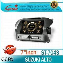 All-In-One Suzuki Alto Car DVD with GPS Navigation car stereo BT RDS USB RADIO