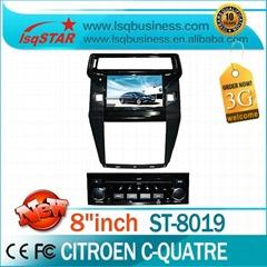 Car DVD/ Special car dvd player Citroen C-Quatre for Wholesale