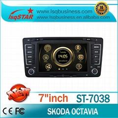 2013 Skoda Octavia radio 2 din in dash car entertainment