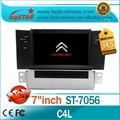 Cheap Citroen C4 L car stereo with BT