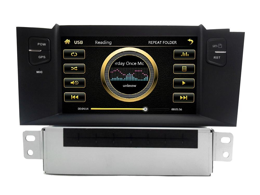 Cheap Citroen C4 L car stereo with BT,radio,ipod, 6cd,gps,3g! hot selling! 4