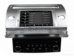 Pure Android 4.2.2 Autoradio DVD Player For Citroen C4 With Cortex A9