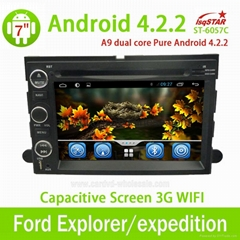 GPS Navigation for Ford Explorer/Expedition with Android 4.2 RDS/Radio/SWC/CanBu