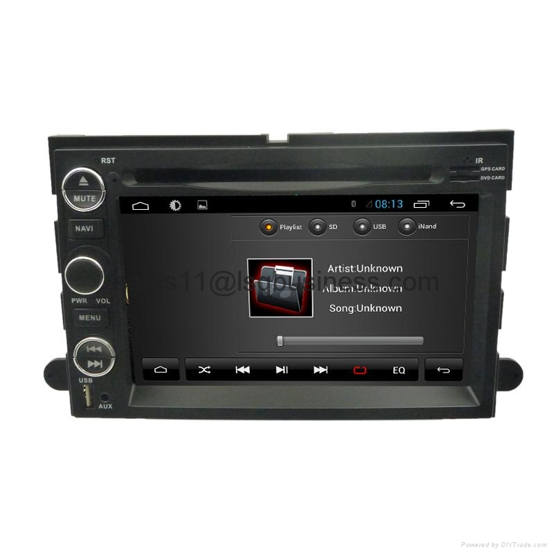 GPS Navigation for Ford Explorer/Expedition with Android 4.2 RDS/Radio/SWC/CanBu 5