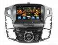 Android 4.2 capacitive touch screen car DVD player for Ford Focus 2012 4
