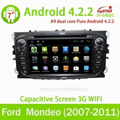 Android 4.2 Car auto radio dvd player for Ford Mondeo (2007-2011)
