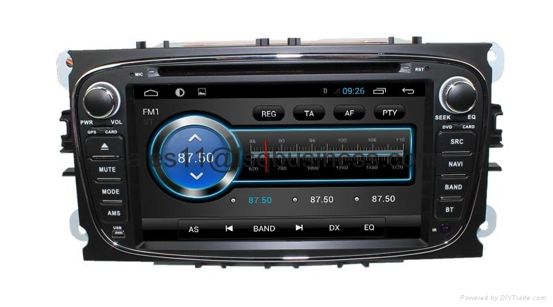 Android 4.2 Car auto radio dvd player for Ford Mondeo (2007-2011) 2