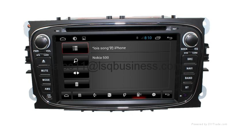 Android 4.2 Car auto radio dvd player for Ford Mondeo (2007-2011) 3