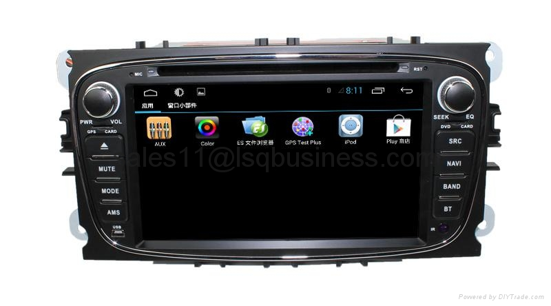Android 4.2 Car auto radio dvd player for Ford Mondeo (2007-2011) 5
