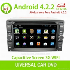 android 4.1 universal with Bluetooth radio TV GPS 3G wifi android ! Newly!