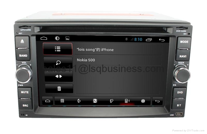 android 4.1 universal with Bluetooth radio TV GPS 3G wifi android ! Newly! 2