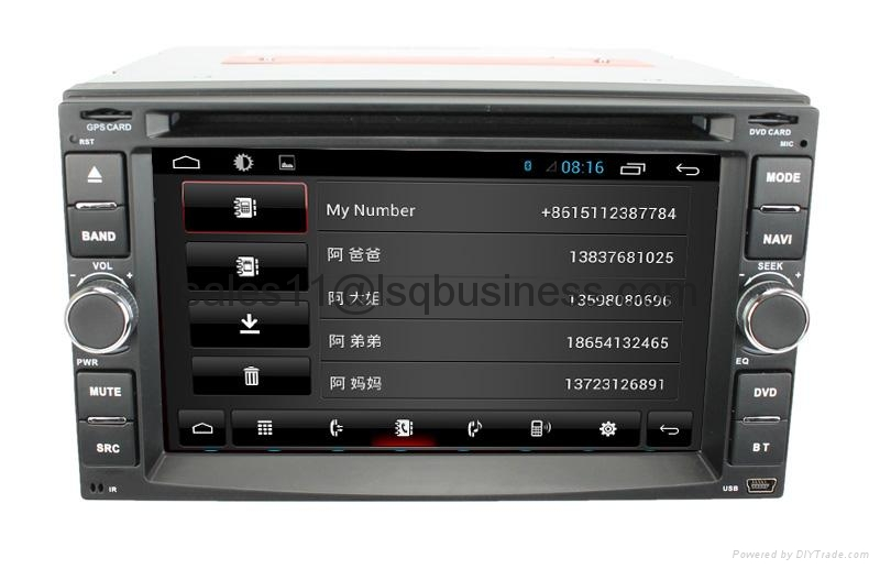 android 4.1 universal with Bluetooth radio TV GPS 3G wifi android ! Newly! 4