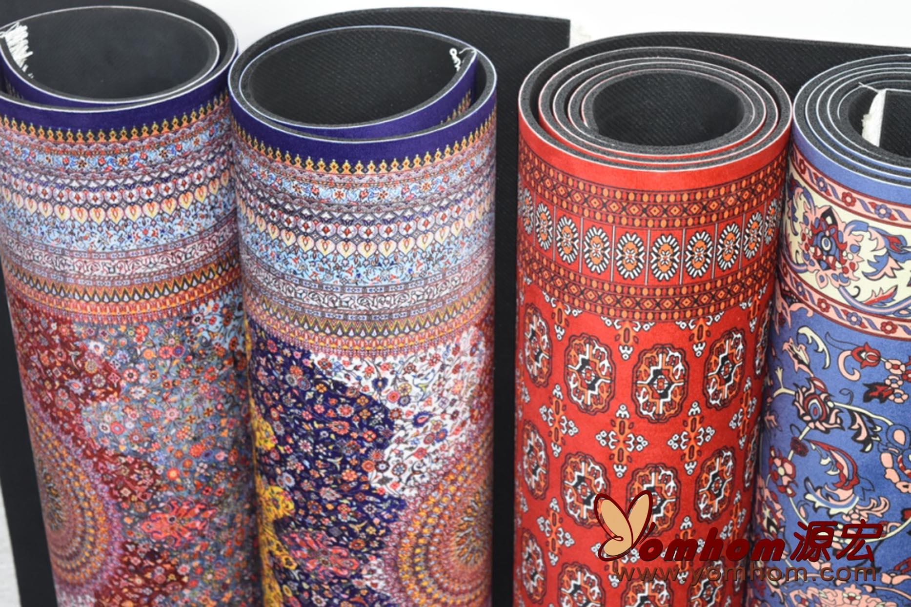 Customized rug design yoga mats 2