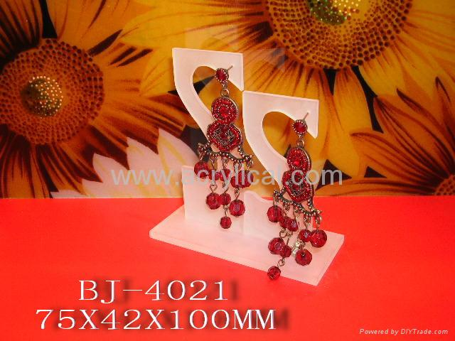 acrylic ear rings display stand