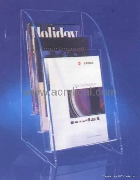 Acrylic leaflet stand A4 size