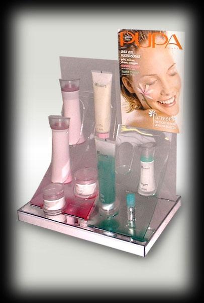 专业生产及设计化妆品货物架,
