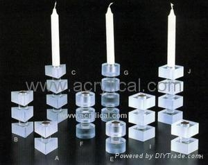 Acrylic candle holder,POP display