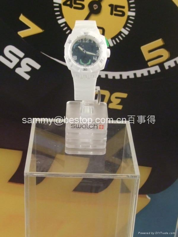 acrylic watch display stand