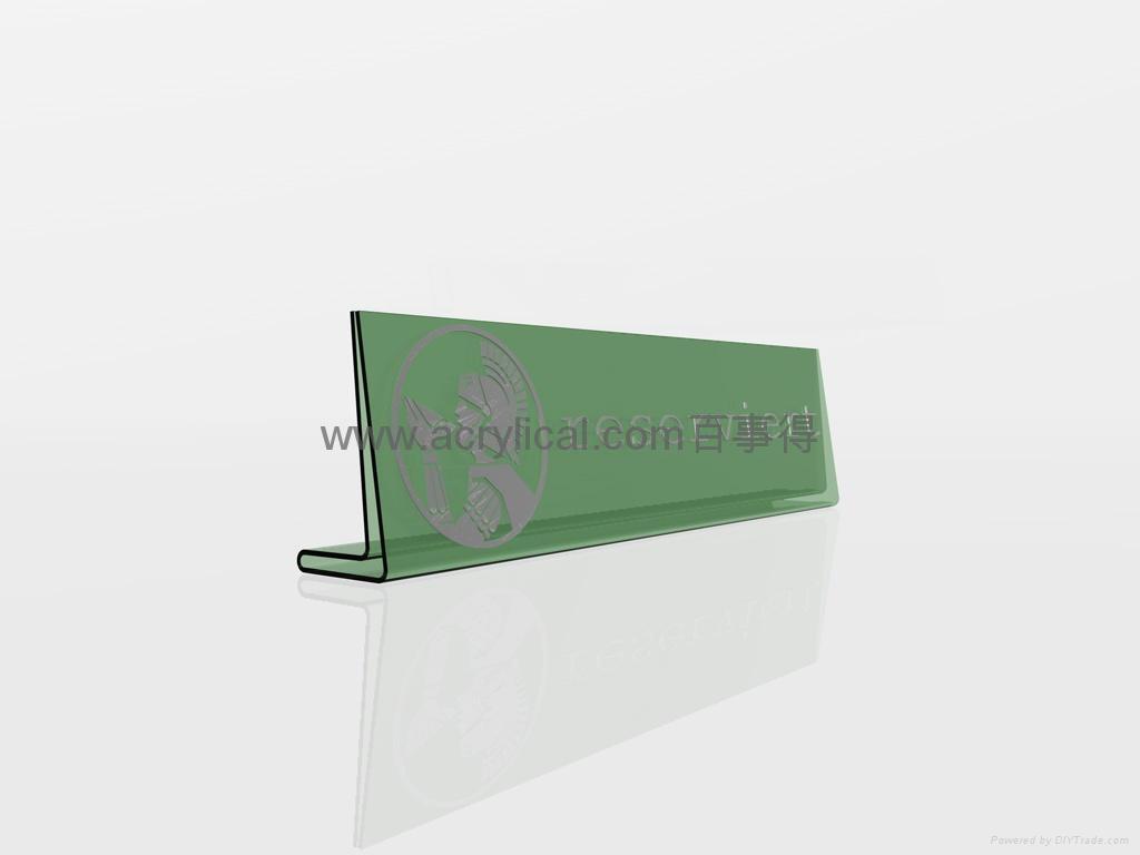 有機玻璃-餐牌座(acrylic menu holder) 1
