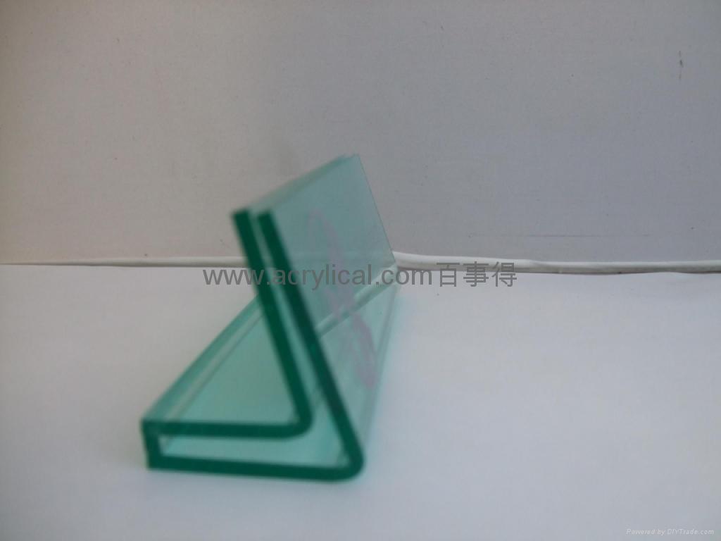 有機玻璃-餐牌座(acrylic menu holder) 3