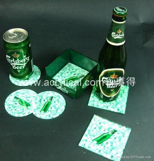 廣告禮品-廣告杯墊 2