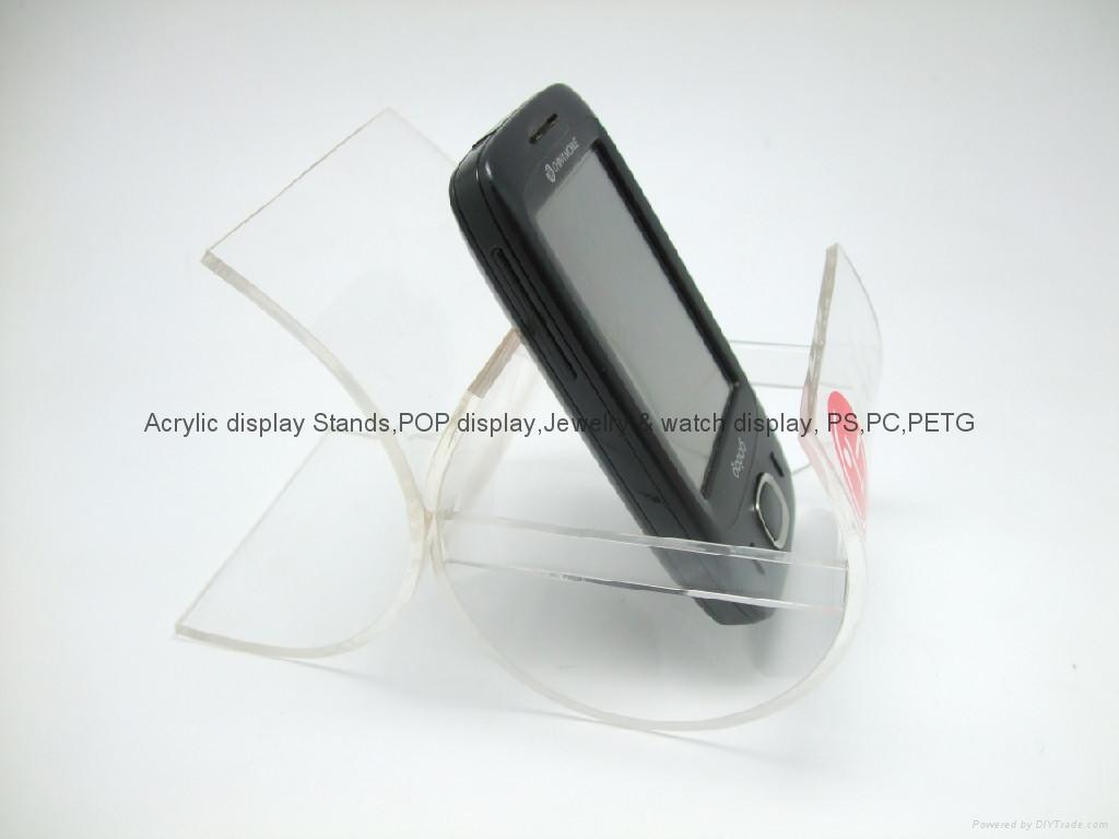 acrylic phone display stands
