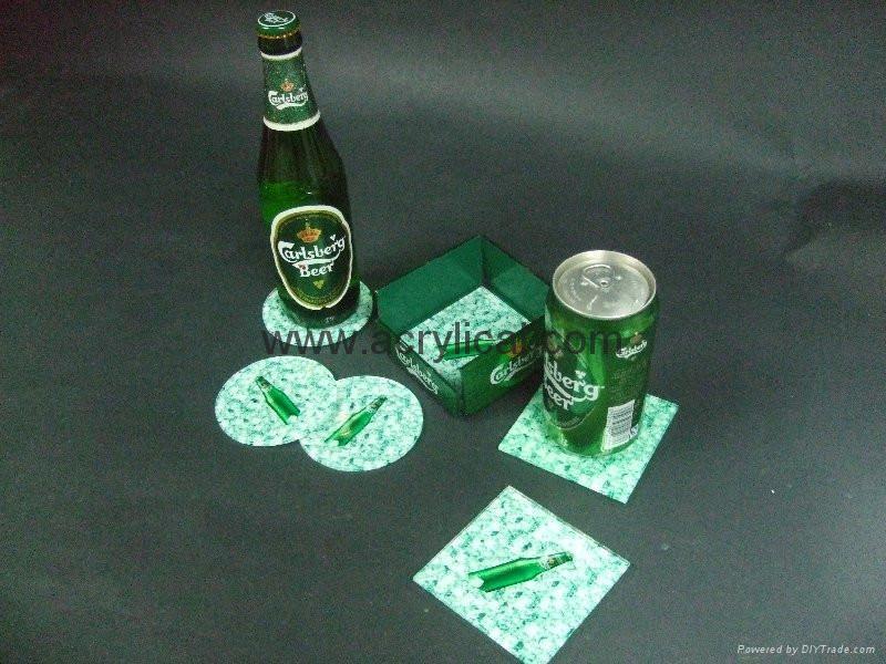 广告礼品-广告杯垫 3