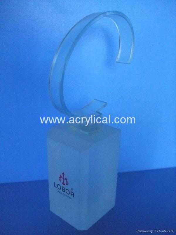 acrylic watch display stand 50x50x40mm