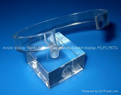 有机玻璃-手表展示架/亚克力手表C圈支架/ 1