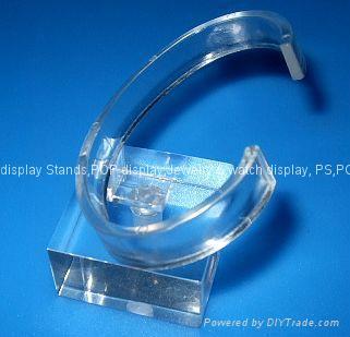 有机玻璃-手表展示架/亚克力手表C圈支架/ 2