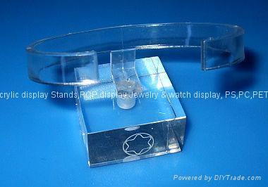 有機玻璃-手錶展示架/亞克力手錶C圈支架/ 4