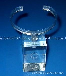 有機玻璃手錶展示架 1