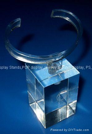 acrylic watch stands with PC c cuff