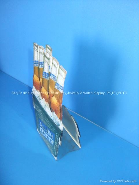 acrylic menu holder/table tent