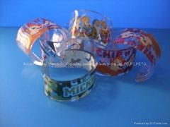 Acrylic bangle, Bracelet (fashion)