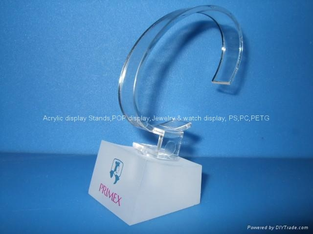 acrylic watch stand 30x30x30mm