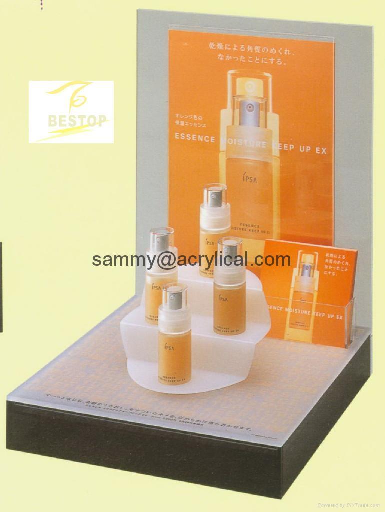 Cosmetic display Rack (acrylic) 4