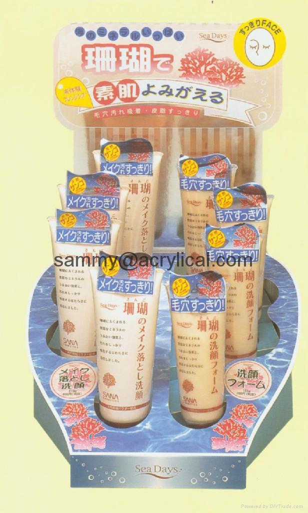 Cosmetic display Rack (acrylic) 5