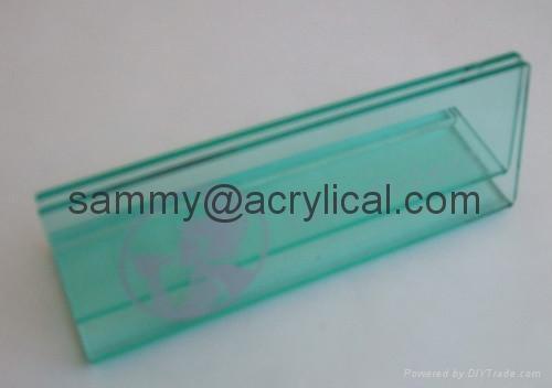 有機玻璃-餐牌座(acrylic menu holder) 4