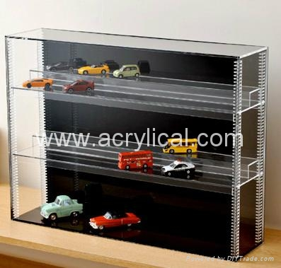 acrylic display box 14*7.5CM   3MM  thickness