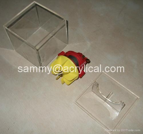 Acrylic display box 100x100x100mm