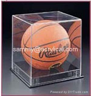 ,New design Acrylic Football Display Case,ACRYLIC DISPLAY BOX 120x120x120mm