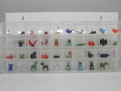 Glass figurine display case,display box,Display Cases for Models, Memorabilia, A