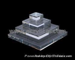 acrylic block platfrom