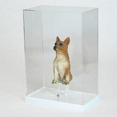 压克力-展示盒,亚克力展示盒,亚克力玩具罩子,动漫模型陈列台