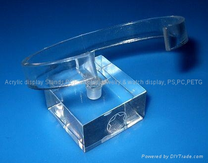 acrylic watch display stand 25x25x40mm