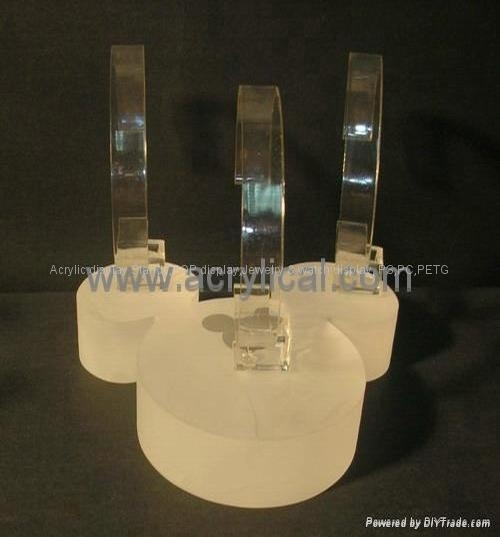 acrylic watch display stand,Counter top display stand