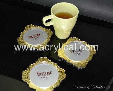 广告礼品-广告杯垫 5