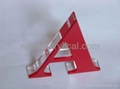 acrylic sign letter